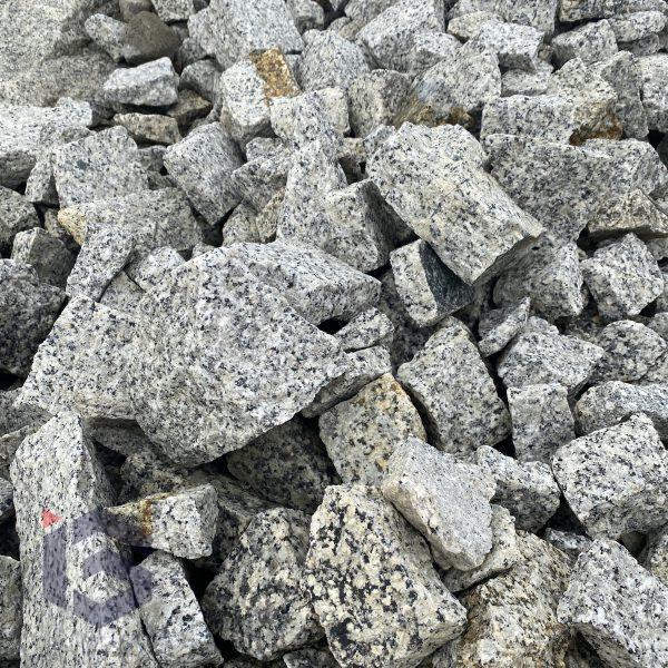 Kamien pomaszynowy nieselekt szaro-zloty